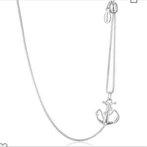 ALEX AND ANI Anchor Pull Chain Necklace